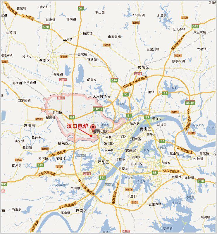 汉口电炉地图