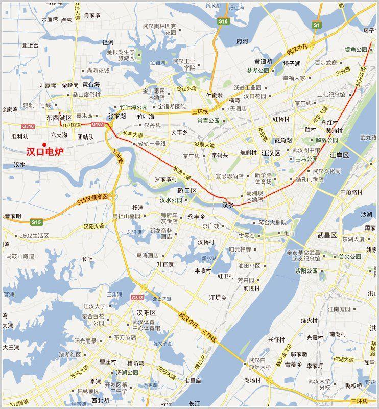 汉口电炉公司地图